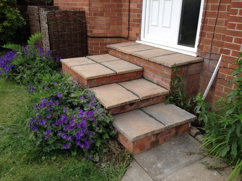 New Front Door Steps